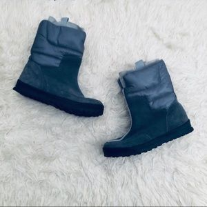 Lands End Suede Winter Bootys Boots Womens